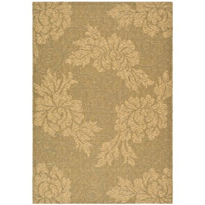 Safavieh Courtyard Gold/Natural Rug