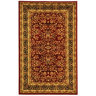 Safavieh Lyndhurst Red/Black Rug