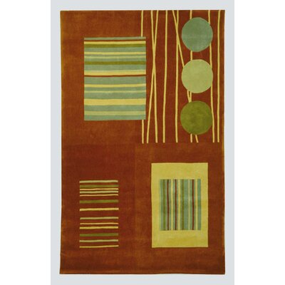 Safavieh Rodeo Drive Rust/Multi Rug