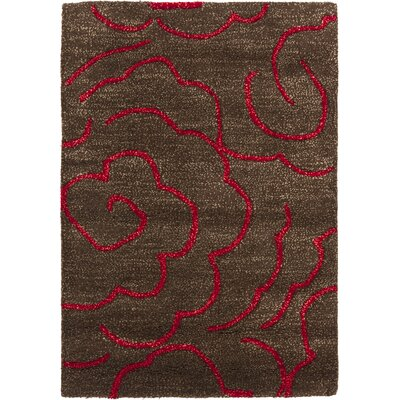 Soho Chocolate/Red Rug