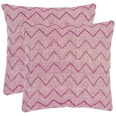 Safavieh Victor Cotton Decorative Pillow (Set of 2)