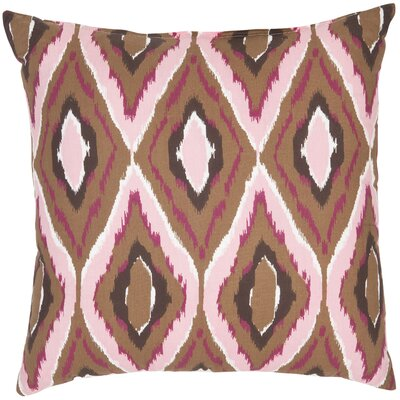 Safavieh Tristan Decorative Pillows in Brown and Pink (Set of 2)