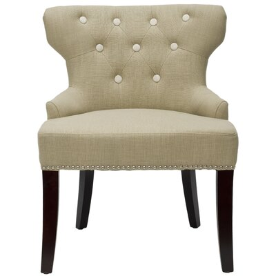 Jack Tufted Fabric Slipper Chair