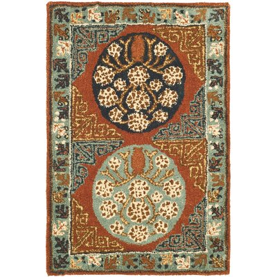 Safavieh Antiquities Rust/Blue Rug
