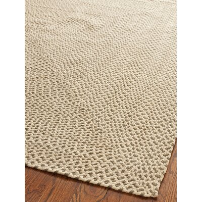 Braided Beige / Brown Rug