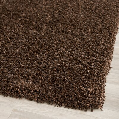 California Shag Brown Rug