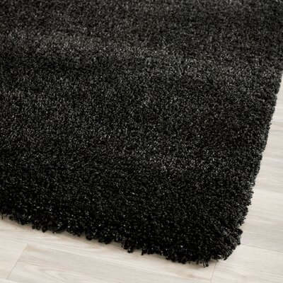 Safavieh California Shag Black Rug
