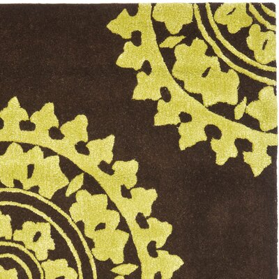 Safavieh Soho Brown/Green Rug