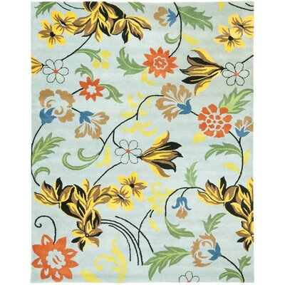 Safavieh Soho Blue/Multi Floral Rug