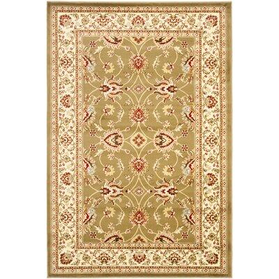 Lyndhurst Green/Ivory Persian Rug