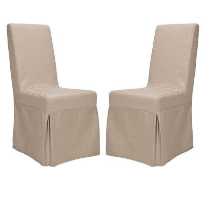 Safavieh Kallie Slipcover Side Chair (Set of 2)