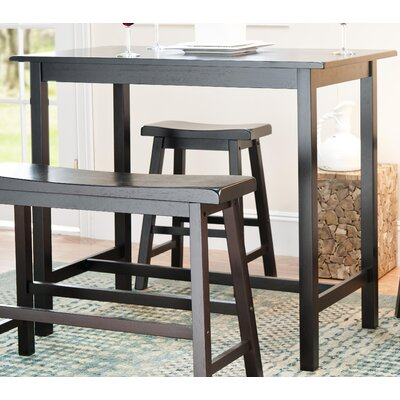 Safavieh Paisley Pub Table in Dark Espresso (Set of 4)