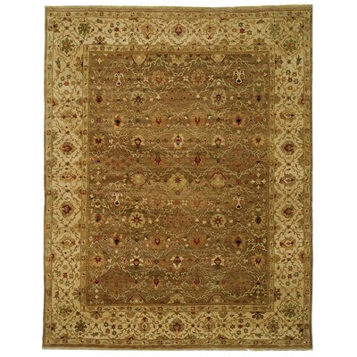 Safavieh Old World Green/Ivory Rug