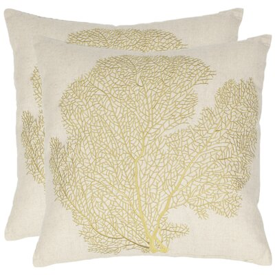 Safavieh Robin Cotton Decorative Pillow (Set of 2)