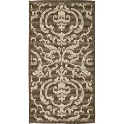 Safavieh Courtyard Chocolate/Natural Rug