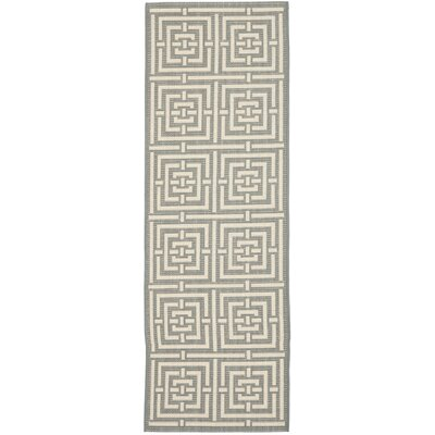 Safavieh Courtyard Grey / Cream Rug