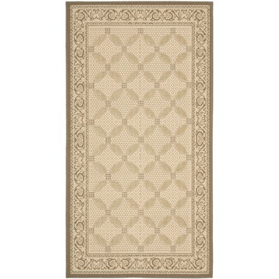 Safavieh Courtyard Beige/Dark Beige Indoor/Outdoor Rug