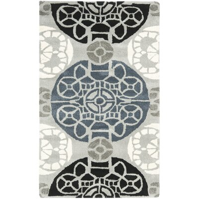 Safavieh Wyndham Grey / Black Rug