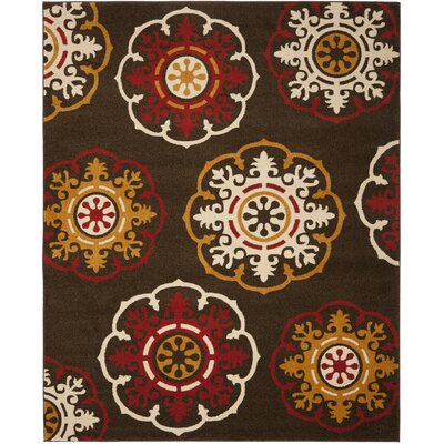 Safavieh Newbury Brown / Red Rug