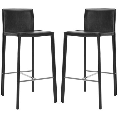 "Safavieh Enzo 30"" Bar Stool with Cushion"