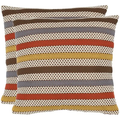 Safavieh Leslie Polyester Decorative Pillow (Set of 2)
