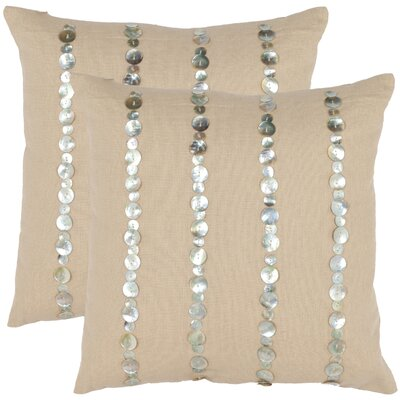 Safavieh Zayden 18&quot; Decorative Pillows (Set of 2)