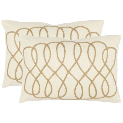 Safavieh Gia Cotton Decorative Pillow (Set of 2)