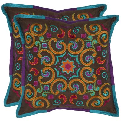 Safavieh Finn Polyester Decorative Pillow (Set of 2)