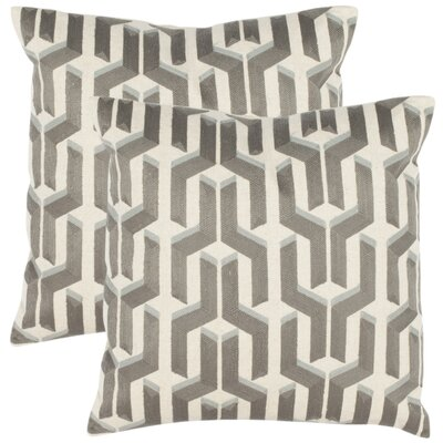 Safavieh Dawson Cotton Decorative Pillow (Set of 2)