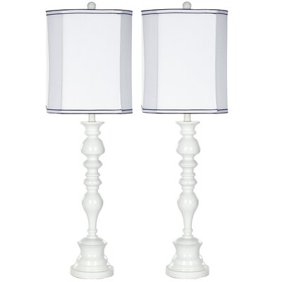 Safavieh Resin High Gloss Table Lamp (Set of 2)