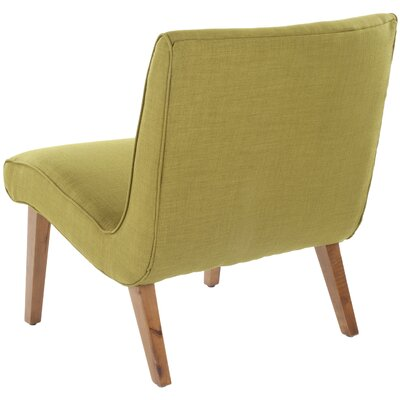 Safavieh Mandell Linen Fabric Slipper Chair