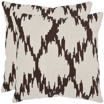 Safavieh Syrie Linen / Cotton Decorative Pillow (Set of 2)