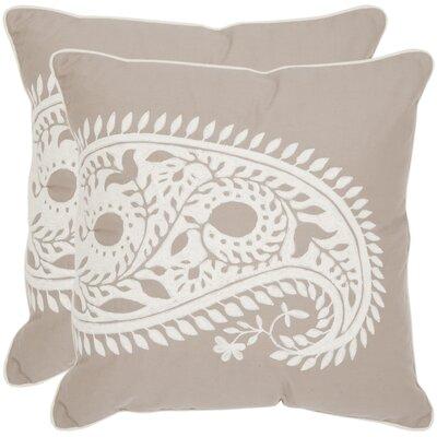 Paisley Cotton Decorative Pillow (Set of 2)