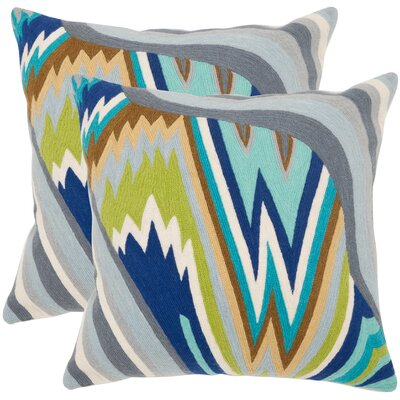 Safavieh Bolt Cotton Decorative Pillow (Set of 2)