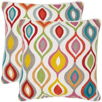 Safavieh Balloon Cotton Decorative Pillow (Set of 2)