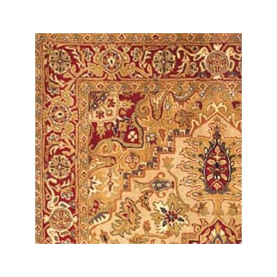 Safavieh Classic Heriz Light Gold/Red Rug