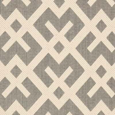 Safavieh Courtyard Grey / Bone Outdoor Rug