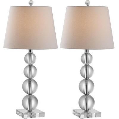 "Safavieh Millie Ball 26.5"" H Table Lamp with Empire Shade"