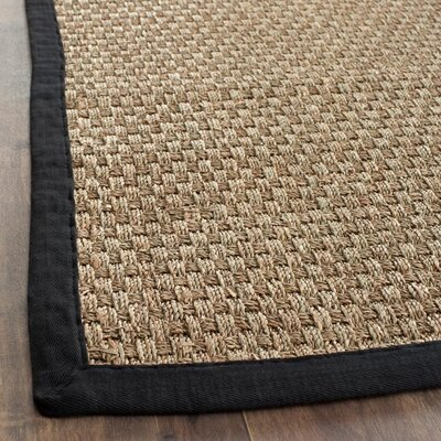 Safavieh Natural Fiber Natural/Black Rug