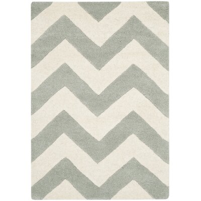 Safavieh Chatham Grey/Ivory Chevron Rug
