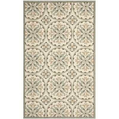 Safavieh Four Seasons Green / Brown Outdoor Rug