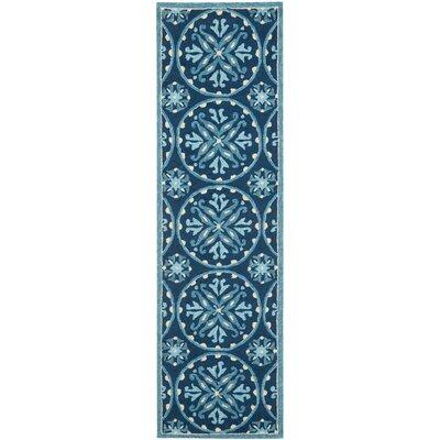 Safavieh Four Seasons Blue / Multi Outdoor Rug