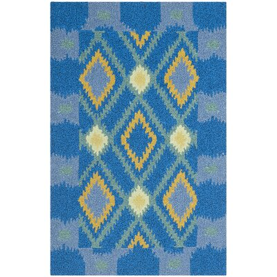 Safavieh Four Seasons Indigo / Yellow Rug