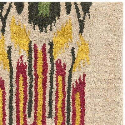 Safavieh Ikat Beige/Yellow Rug