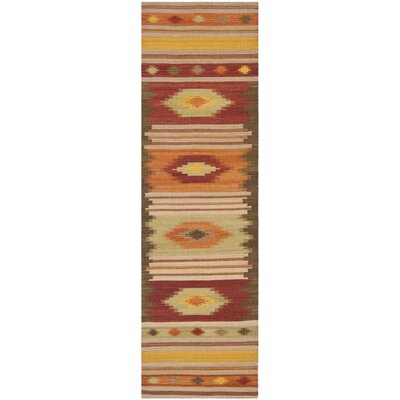 Navajo Kilim Brown / Multi Rug