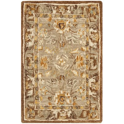 Safavieh Anatolia Dark Gray/Brown Rug