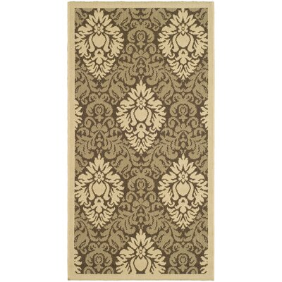 Safavieh Courtyard Brown/Natural Rug