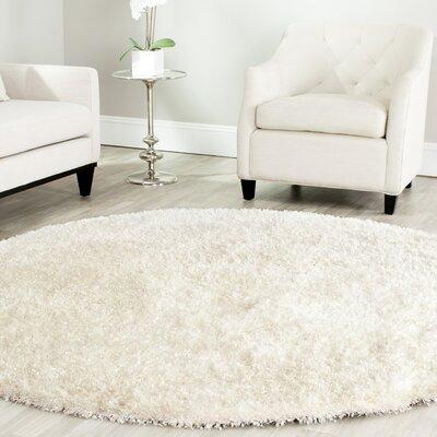 Safavieh Malibu Shag White Rug