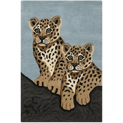 Safavieh Wilderness Blue/Charcoal Novelty Rug