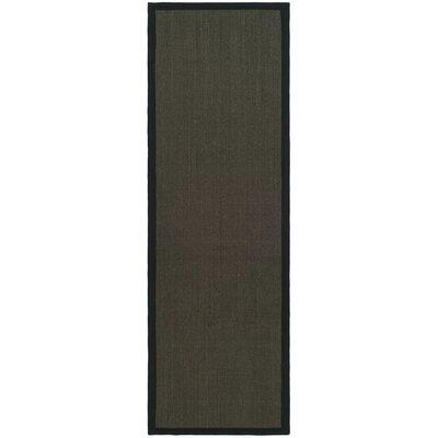 Safavieh Natural Fiber Charcoal/Charcoal Rug